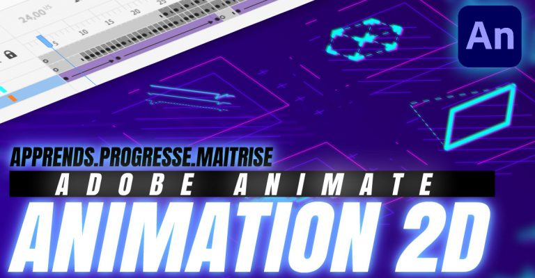 Les essentiels d'Adobe ANIMATE 🟪